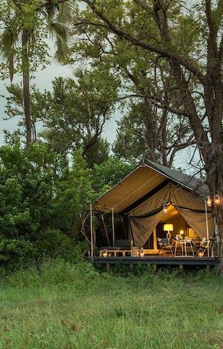 Gomoti Plains Raised Tented Suites