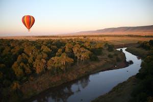 Governors  Camp Hot Air Balloon
