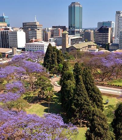 Harare City Skyline