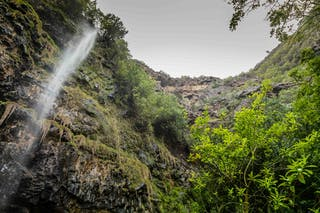 Heart Shaped Waterfall On St Helena