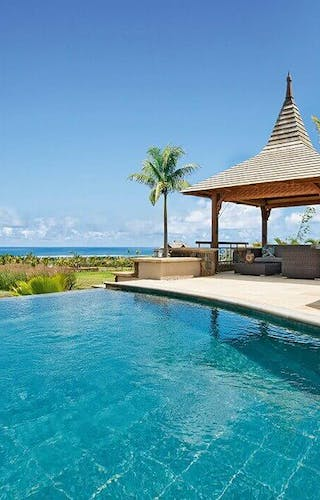 Heritage The Villas Pool With Sea View
