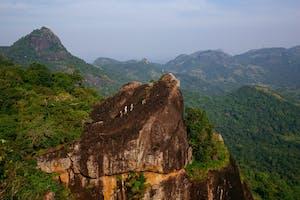 Hiking In  Gal  Oya  National  Park