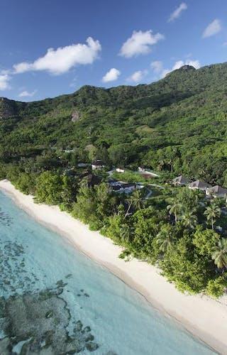 Hilton Labriz Aerial Villa View