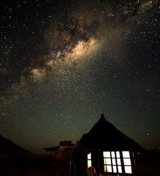 Hoodia Desert Lodge By Night