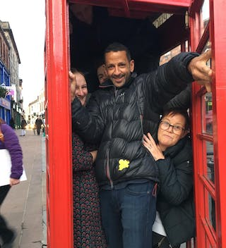 How Many Far Wilders Can You Fit In A Phone Box