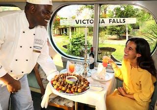 Imvelo Safari Lodges Snacks Are Served Aboard Our Sleeper Train