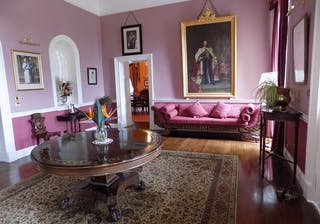 Inside Plantation House On St Helena