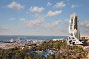 Jumeirah  Beach  Hotel  Exterior