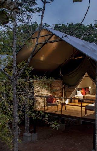 Kaav Tent Exteror Nagarhole National Park