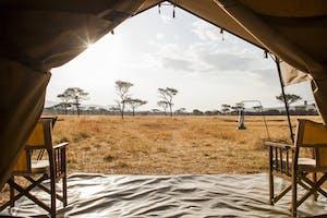 Kati  Kati  Tent  View
