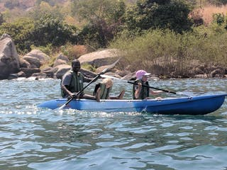 Kayaking Lake Malawi