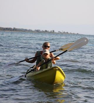 Kayaking On Lake Malawi