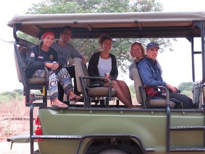 Khan Family Safari Vehicle