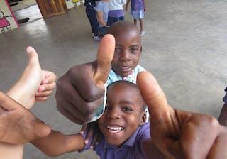 Khan Family Safari Community Visit