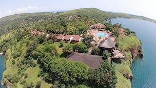 Kigoma Hilltop Aerial View