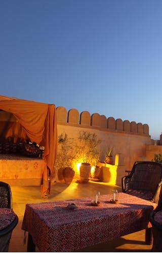 Killa Bhawan Roof Bed