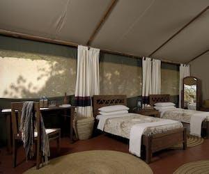 Kirurumu Manyara Lodge Twin Bedroom
