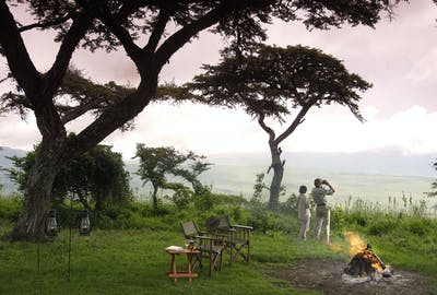 Kirurumu Ngorongoro Pakulala Camp View Point