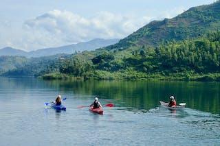 Lake Kivu Kayaking In Rwanda