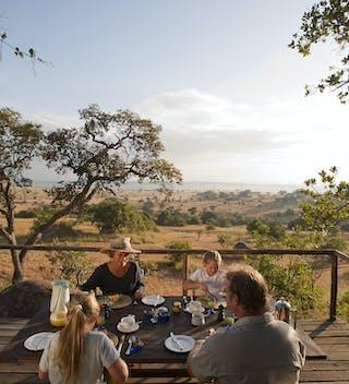 Lamai  Serengeti  Camp  Breakfast