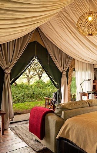 Lemala Ngorogoro Camp Dbl Bedroom