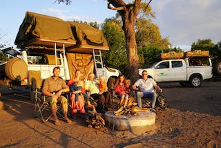 Leo Houlding And His Family Bush Camping In Botswana