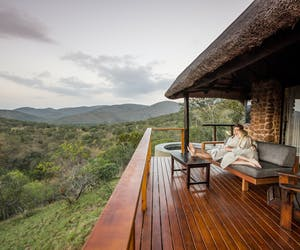 Leopard Mountain Relax On Verandah