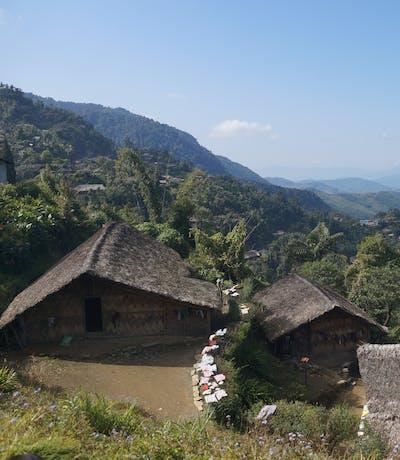 Longwa Village In Nagaland