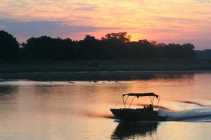 Luangwa River Camp Water Taxi