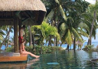 Lux Le Morne Pool