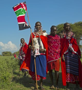 Maasai Olympics In Kenya