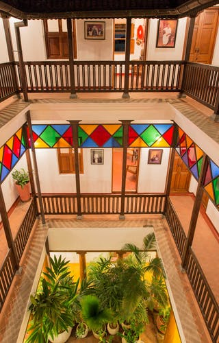 Maison Perumal Courtyard