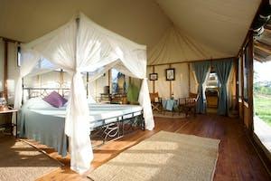Maramboi  Tented  Camp  Bedroom  Tent