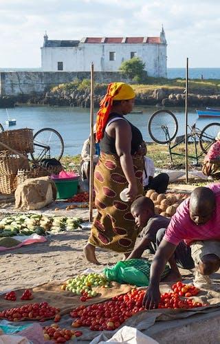 Market On Ilha De Mozambique