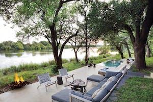 Matetsi River Lodge River House
