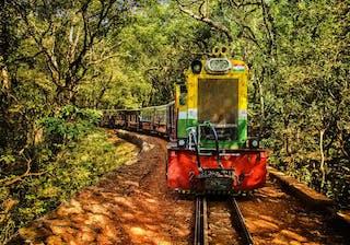 Matheran Toy Train Two