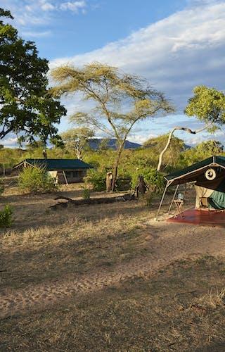 The Layout at Mdonya Old River Camp