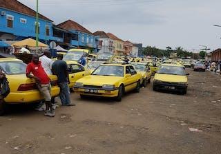 Michael Sao Tome City – Taxi Rank