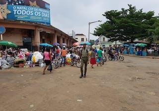 Michael Sao Tome City Market