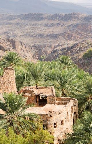 Misfah Village In Oman