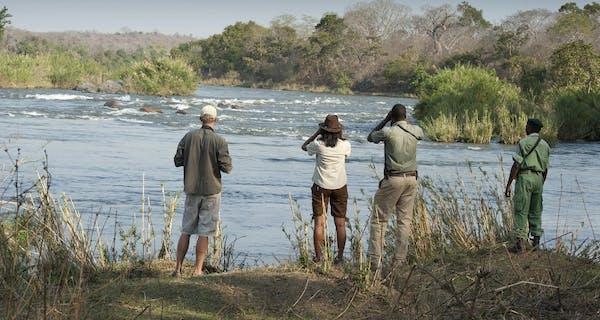 Mkulumadzi Majete Walking Safari
