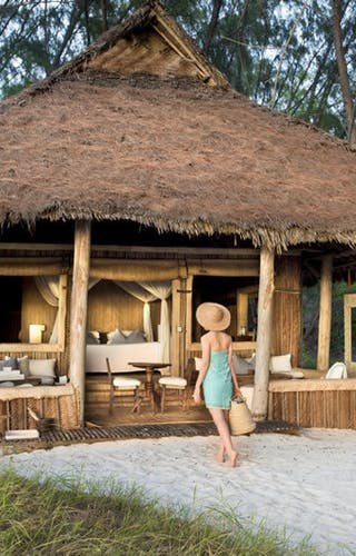 Mnemba  Island  Lodge Banda