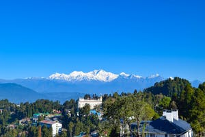 Mountain View From  Darjeeling