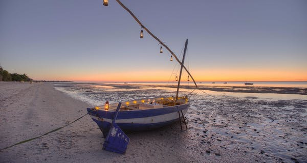 Mozambique Dhow Dining At Sunset
