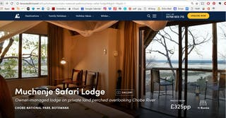 Muchenje Safari Lodge Fw Screen Capture