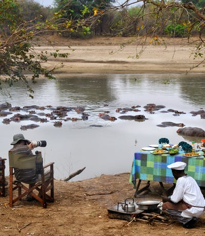 Mwaleshi Bush Breakfast In North Luangwa