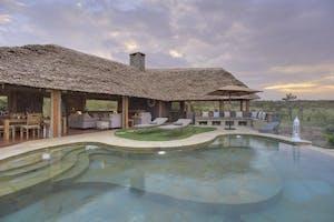 Naboisho New Swimming Pool At Sunset