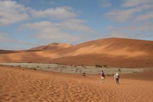 Exploring the Sossusvlei Dunes