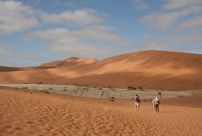 Exploring the Sossusvlei Dunes