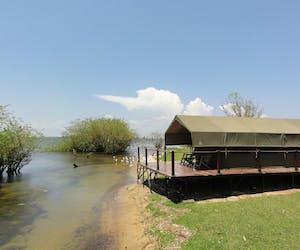 Ngamba Island Tent Exterior